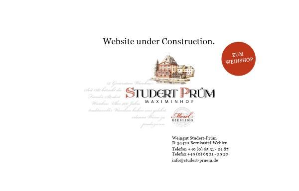 Vorschau von www.studert-pruem.de, Weingut Studert-Prüm