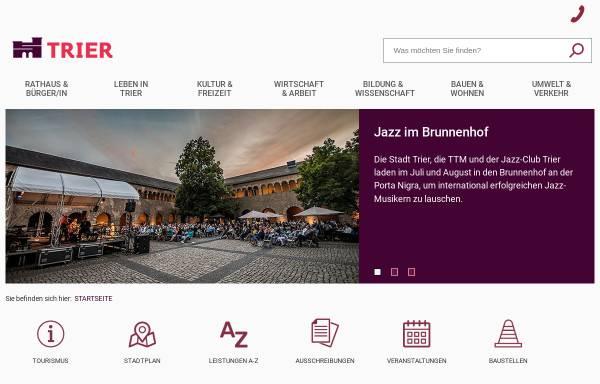 Vorschau von www.trier.de, Zukunft Trier 2020