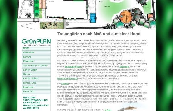 Vorschau Von Www.gruenplan Hamburg.de, GrünPlan Hamburg ...