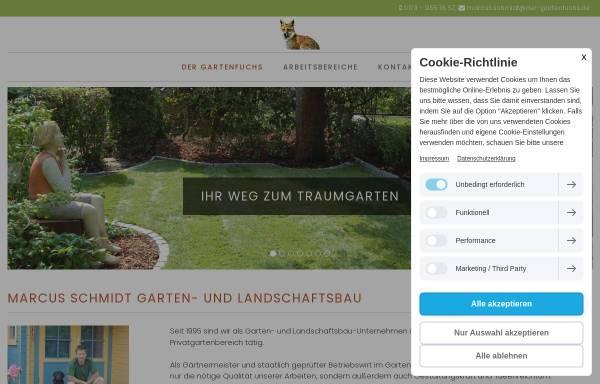 Vorschau von www.der-gartenfuchs.de, Marcus Schmidt