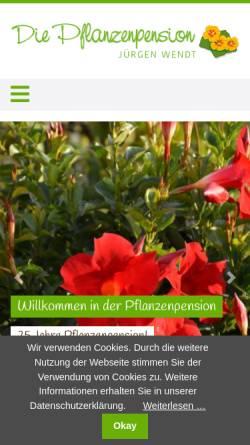 Vorschau der mobilen Webseite www.wendt-gartenbau.de, Wendt Gartenbau