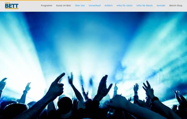 Vorschau von www.bett-club.de, Das Bett