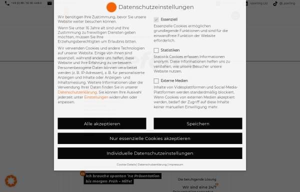 Vorschau von www.i-pointing.de, I-pointing