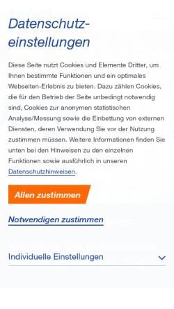 Vorschau der mobilen Webseite www.asfa.de, AS Bardusch GmbH