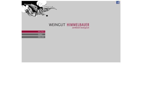 Vorschau von www.weingut-himmelbauer.at, Himmelbauer, Weingut