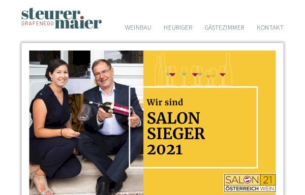 Vorschau von www.weinbau-maier.at, Maier, Weinbau, in Grunddorf, Kamptal