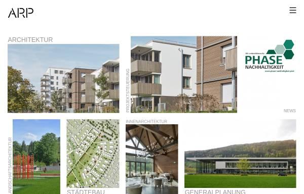Vorschau von www.arp-stuttgart.de, ArchitektenPartnerschaft Stuttgart GbR (ARP)