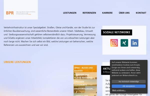 Vorschau von www.bpr-stuttgart.de, bpr - Beraten Planen Realisieren