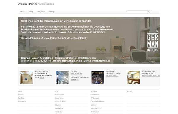 Vorschau von www.drexler-partner.de, Drexler, Jochen; Haimerl, German