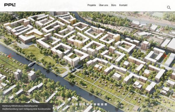 Vorschau von ppl-hh.de, PPL Architektur und Stadtplanung