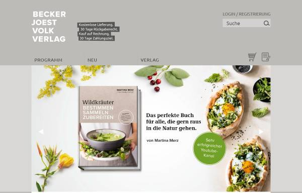 Vorschau von bjvv.de, Becker Joest Volk Verlag GbR