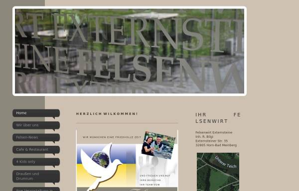 Vorschau von www.felsenwirt.de, Felsenwirt Externsteine