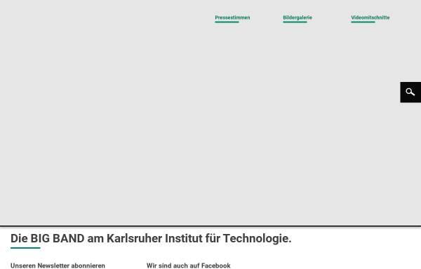 Vorschau von www.bigband.kit.edu, Uni Big Band Karlsruhe