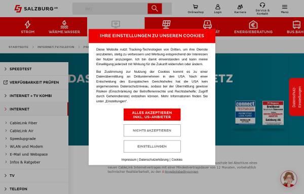 Vorschau von www.elterninfo.salzburg.at, Bildungsinfo