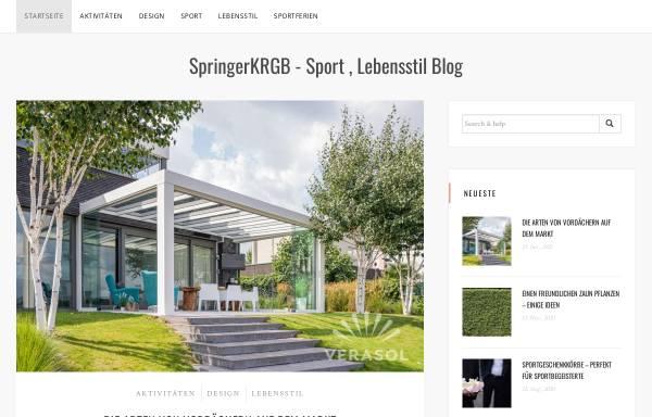 Vorschau von www.springerkrbg.de, SV Springer Kranenburg 1948 e.V.
