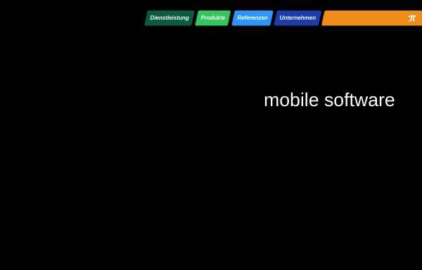 Vorschau von www.pi-data.de, Mobile Software Lösungen