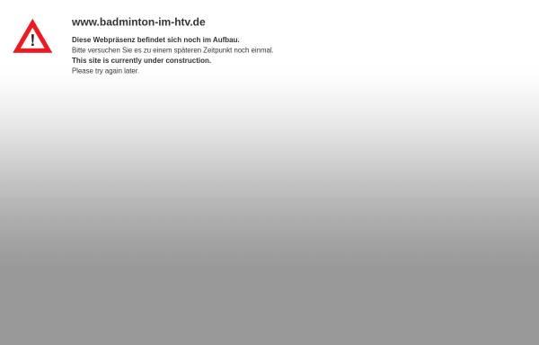 Vorschau von www.badminton-im-htv.de, Badminton im Hundsmühler TV