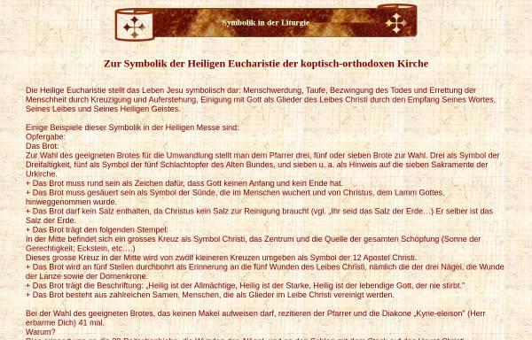 Vorschau von www.coptic-churches.ch, Koptische Liturgie