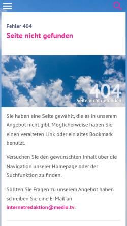 Vorschau der mobilen Webseite www.ekkw.de, Lekinet - Lektoren im Netz