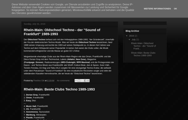 Vorschau von oldschool-ffm-techno.blogspot.com, Oldschool Techno FFM 1989-1993