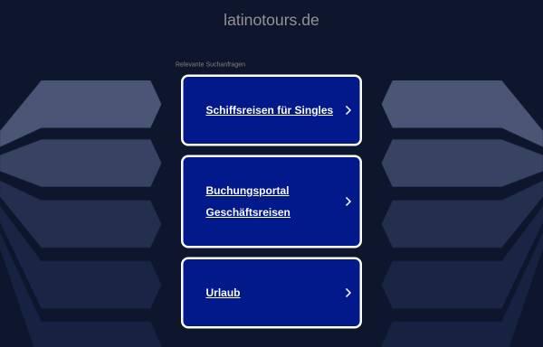 Vorschau von www.latinotours.de, LatinoTours