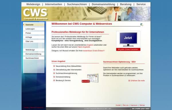 Vorschau von cws-design.de, CWS Computer & Webservices - Christian Ziem