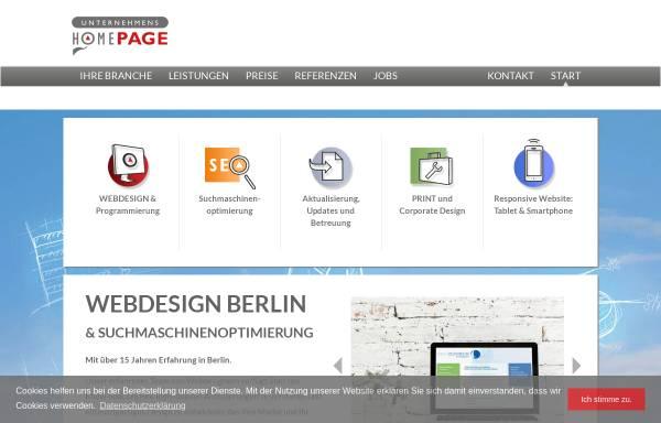 Vorschau von unternehmenshomepage.de, Gross & Gross GbR