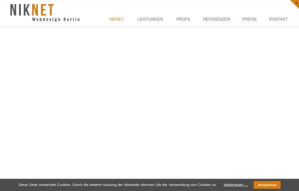 Vorschau von www.niknet.de, Nicole Muhs