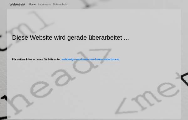 Vorschau von www.webartista.eu, WebArtistA - Deborah Klugt