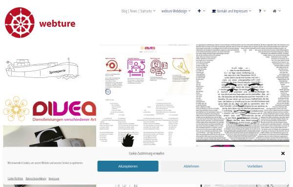Vorschau von www.webture.eu, Webture, Sabine Simmin Rahe
