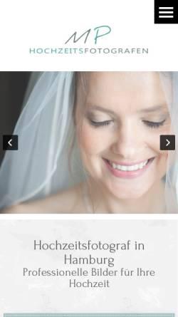 Vorschau der mobilen Webseite www.hochzeitsfotograf-hamburg.cc, Hochzeitsfotograf Marko Pesikan