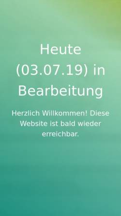 Vorschau der mobilen Webseite www.terzka.de, Iris Terzka Fotografie