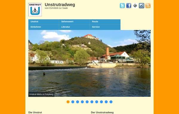 Vorschau von www.unstrutradweg.de, Der Unstrutradweg