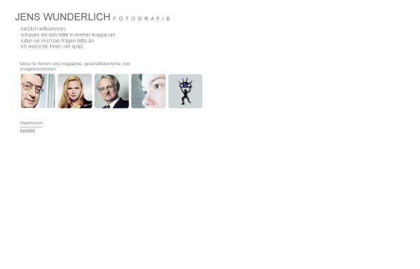 Vorschau von www.jens-wunderlich.de, Jens Wunderlich