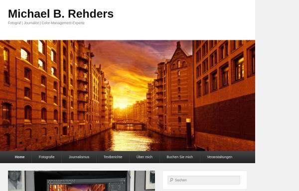 Vorschau von www.rehders.de, Michael Rehders Fotoatelier