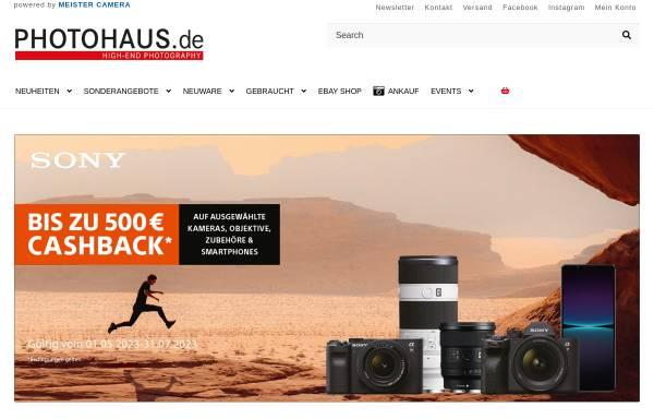 Vorschau von www.photohaus.de, Photohaus Colonnaden