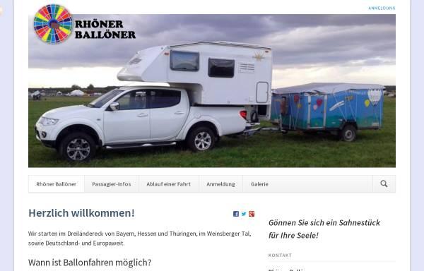 Vorschau von www.rhoener-balloener.de, Rhoener Balloener e.V. - Ballonsportler aus der Rhön