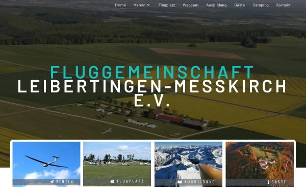 Vorschau von www.flugplatz-leibertingen.de, Fluggemeinschaft Leibertingen e.V.