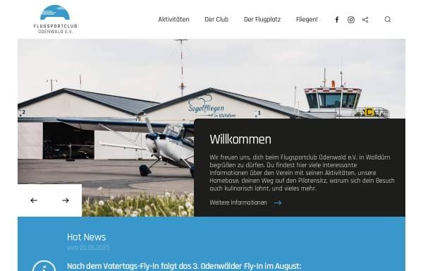 Vorschau von www.fsco.de, Flugsportclub Odenwald Walldürn