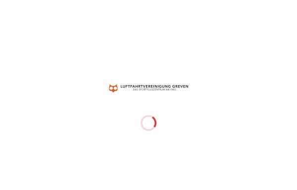 Vorschau von www.fliegen-muenster.de, Luftfahrtvereinigung Greven