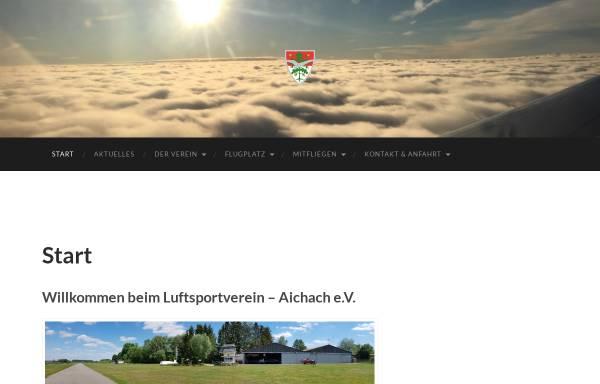 Vorschau von lsvaichach.de, Luftsportverein Aichach