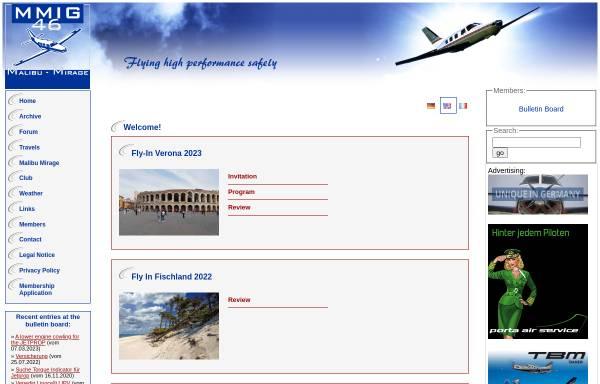 Vorschau von www.mmig46.org, Malibu-Mirage Interessengemeinschaft 46