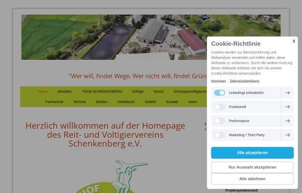 Vorschau von www.reiten-delitzsch.de, Reit- und Voltigierverein Schenkenberg e.V.