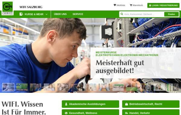 Vorschau von www.wifisalzburg.at, Wirtschaftsförderungsinstitut Salzburg (WIFI)