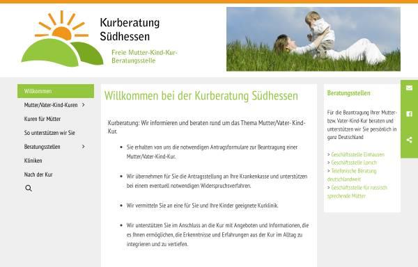 Vorschau von kurberatung-suedhessen.de, Kurberatung Südhessen