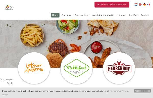 Vorschau von www.pureingredients.eu, Mekkafood GmbH & Co. KG