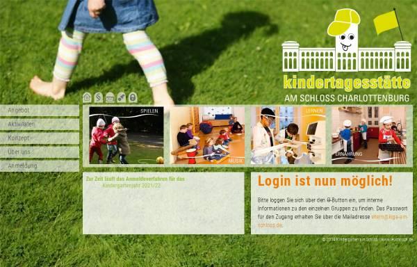Vorschau von www.kiga-am-schloss.de, Kita am Schloss