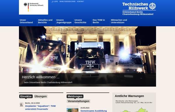 Vorschau von www.thw-chawi.de, Technisches Hilfswerk (THW)