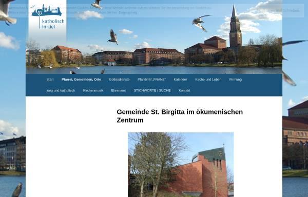 Vorschau von st-birgitta.beepworld.de, Birgitta-Thomas-Haus Kiel-Mettendorf
