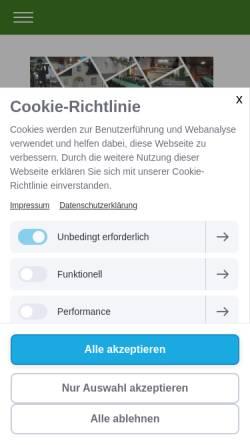 Vorschau der mobilen Webseite www.bsv-aplerbeck.de, Bürger-Schützen-Verein Aplerbeck 1826 e.V.